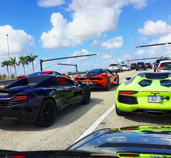 DCK Rally - Exotic car show florida 2018